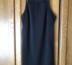 Crna mrežasta haljina M