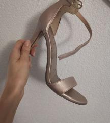 Sandale 38 zlatne