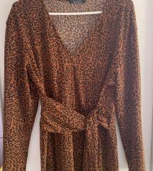 Bershka leopard haljina