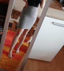 Uska suknja visokog struka