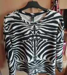 H&M zebra majica