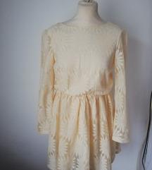 Kratka haljina od čipke