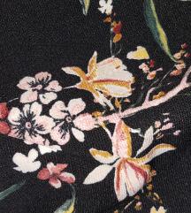 Bershka cvijetni kombinezon S
