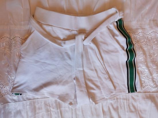 Bijele ljetne hlačice