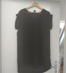 Prozirna crna košulja