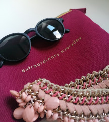 Lot Max&co torbica, naocale i ogrlica
