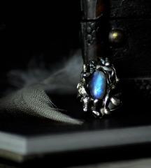 Fantasy moonstone prsten