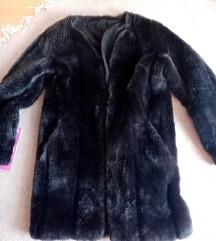 Crno siva bunda zimsko sniženje!