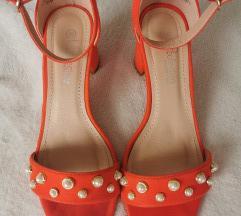 Upcollection narančaste sandale i torbica - s pt