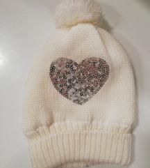 H&M nova bijela zimska kapa