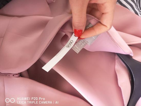 Asos svecana roza haljina