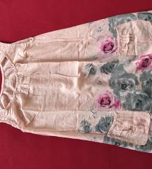 Kraka cvjetna  haljina