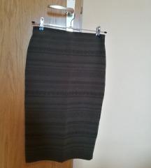 Bershka pencil suknja