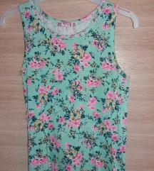 cvijetna majica/bluzica bez rukava