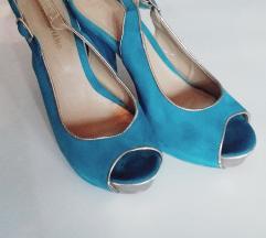 Tirkizne sandale 38