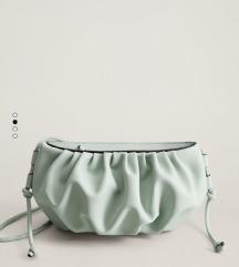 MANGO mint torbica Bottega Veneta stil