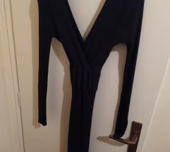 Crna haljina rastezljiva kao nova