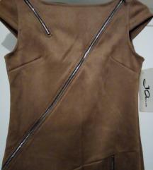 NOVA haljina sa zipovima