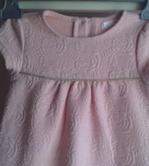 Svečana roza proljetna haljina za curice