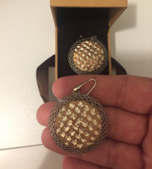 Zaks srebrne nausnice