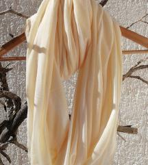 Svijetložuta marama