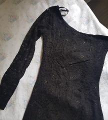Mini čipka haljinica/jedan rukav❤❤