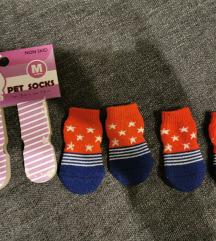 Čarape za psa vel M