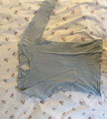 uska baby plava majica 3/4 rukava (sada 50kn)