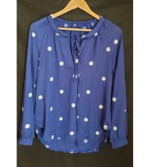 Kraljevsko plava bluza 🎀