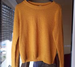 NOVI oker pulover