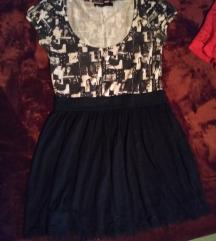 Pamučna haljina Fishbone L