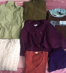 Lot, puloveri, veste, pončo, jakna. Nikad noseno