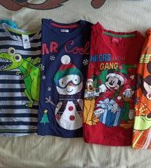 Lot majice dugih rukava za dečke 122