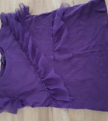 Ljubičasta majica s tilom