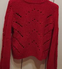 Jarkocrveni džemper