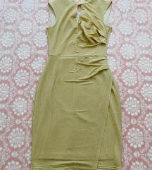 Orsay - zlatna uska haljina za svečane prilike