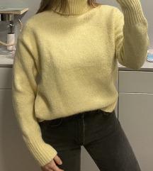 Žuti pulover zara