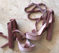 Plišane sandale