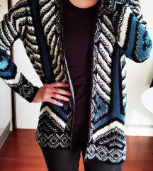 Skroz novi NY modri džemper/jaknica