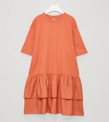 COS narančasta haljina NOVO s etiketom vel S