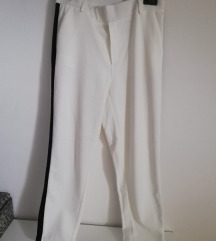 Zara Bijele hlače - Trafaluc collection