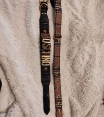 Hm& Moschino kožna ogrlica za psa 150 kn