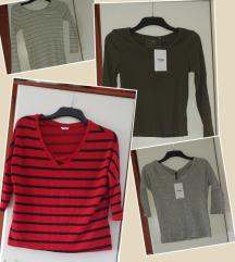 4 nove Sinsay majice, pt uključena