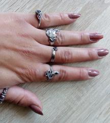 Gothic prstenje, srebro