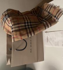 Burberry šal vuna-svila