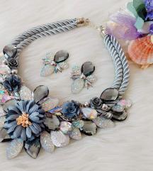 Komplet ogrlica i naušnice