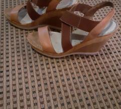 Kozne sandale/platforme,u cijenu ukljucena pt