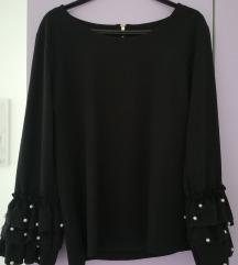 Bluza elegantna crna s biserima %%