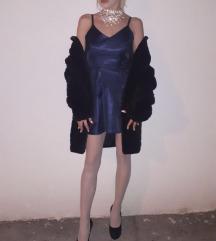 Kratka plava haljina