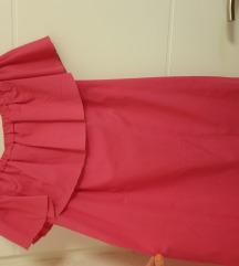Mini pink haljina